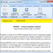 Procedura inregistrarii  in ReviSal a detasarii unui salariat