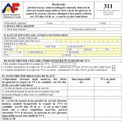 Documentar ANAF privind Declaratia 311